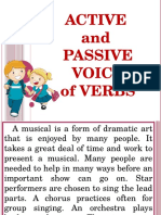 Active-Passive Voice of Verbs
