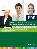 Manual ACHS Aplicacion Protocolo Riesgos Psicosociales
