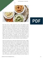 Um Trio de Hummus — Cocoon Cooks