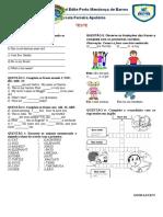 Teste Ingles
