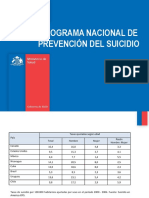 4 Plan Nacional en Preve Del Suicidio Chile