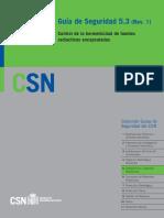 GS 05-03 Revisión 1 - Control de La Hermeticidad de Fuentes Radiactivas Encapsuladas