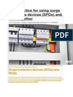 Best Practice for Using Surge Protective Devices