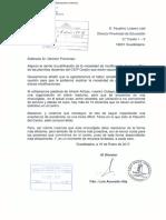 170116 Justificación Cambio de Perfiles Plazas Vacantes CEIP Ocejón