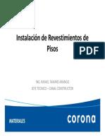 01. Presentacion Pisos - Corona 10.10.2016