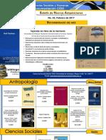 Boletín Nuevas Adquisiciones CD_CISH Febrero