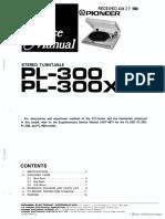 Pioneer PL-300-sm