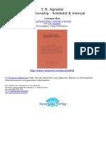 Drug Relationship Antidotal Inimical Y R Agrawal.00394 2