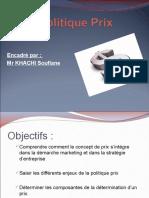 96690908-Politique-Prix.ppt