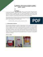 Plan de Saneamiento Ambiental-Desarrollo Humano 2015