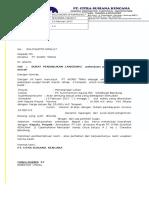 contoh Surat Penunjukan Subcon