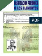 Clasificacion Periodica de Los Elementos ( Por La Editorial Rubiños)