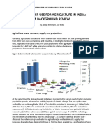Agriculture Waste Water Reuse Background Review