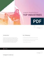 Instagram Marketing Review Top Industries