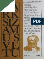 (Marksizam u Svetu, 1983, No. 12) Miloš Nikolić (Ed.)-Marksizam u Svetu_ Pitanja Marksističke Istoriografije-Izdavački Centar Komunist (1983)