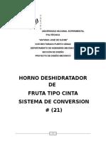Sistema de Convercion Keymer