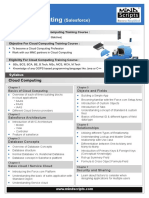 Cloud Computing Certification Courses Pune