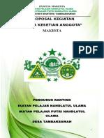 Proposal MAKESTA IPNU IPPNU