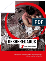 Desheredados Por Save the Children