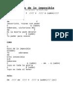 DIOS de Lo Imposible (MB)
