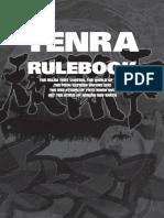 Tenra Bansho Zero Rulebook