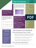 eureka math grade 3 module 5 parent tip sheet