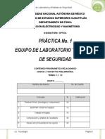 Practica 1 Equipo de Laboratorio y Medidas de Seguridad