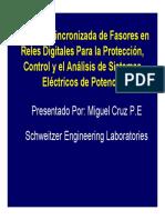 SEL Sincrofasores Medicion sincronizada de fasores en reles.pdf