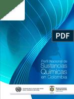 Perfil Nacional de Sustancias Quimicas en Colombia 2012