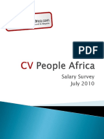 Cvpa Salary Survey 2010