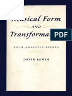 the late David Lewin Musical Form and Transformation- Four Analytic Essays  2007.pdf