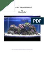 Reef Aquarium Maintenance | Aquarium | Coral