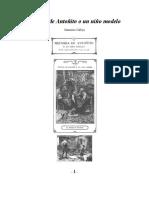 Calleja Saturnino - Historia de Antoñito O Un Niño Modelo