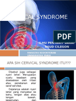 Penyluhan Cervical Syndrome