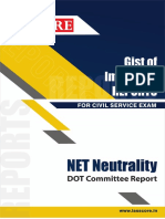 Net Neutrality Dot Committee Report