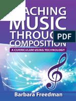 Barbara Freedman-Teaching Music Through Composition