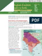 18-3 the mughals establish an empire in india