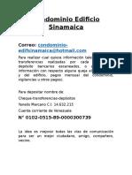 Condominio Edificio Sinamaica.docx