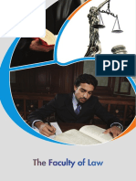 Faculty of Law Brochure