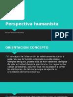 Perspectiva Humanista de La Orientacion