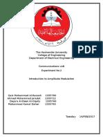 Communication LAB Report
