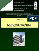 Incapacidade Cognitiva I - UFMG