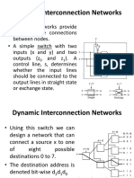 Lecture - 15 Dynamic Interconnection Networks