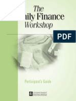The Family Finance Workshop
