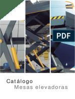 Catalogo Mesas Elevadoras POR