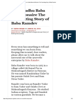 From Sadhu Baba to Millionaire the Fascinating Story of Baba Ramdev