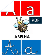 Alfabeto cartazes
