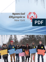 2017 Special Olympics New York State Winter Games sponsor slideshow