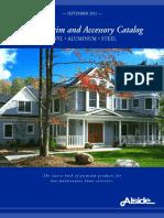 Alside Siding Trim and Accessory Catalog