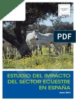 Estudio Del Impacto Ecuestre Espana